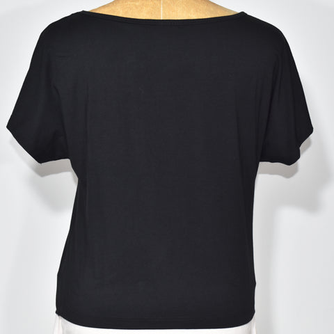(Wholesale Only) Tie Up Crop Short Sleeves Womens T-Shirt - Deshanee Dress Point - mylife-sa.myshopify.com