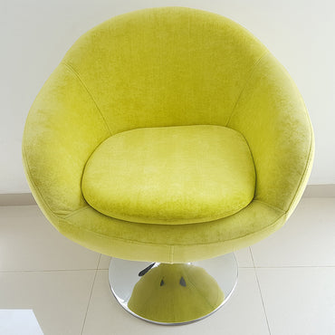 Imported Yellow Color Apple Chair