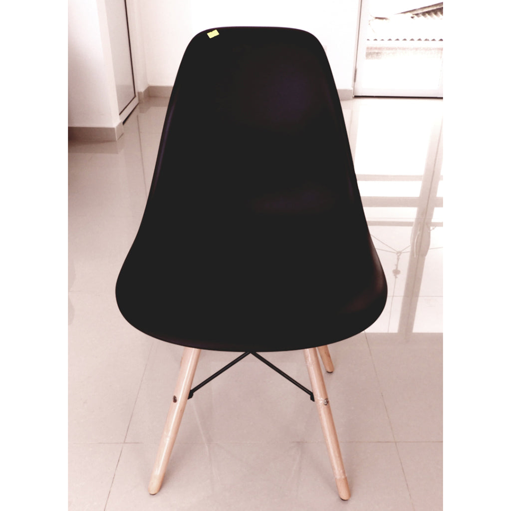 Imported Black Color Steel Chair