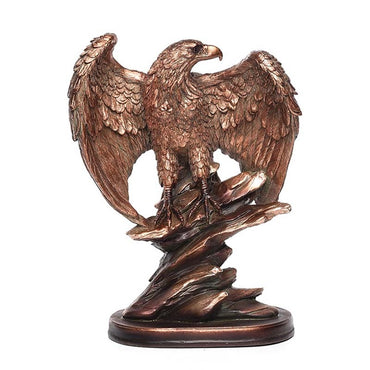(Global Shop) Creative Eagle Spread Wings Figurines Trophy