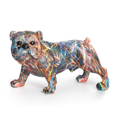 (Global Shop) Creative Ornament Modern Dog Sculpture