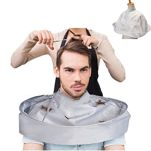 (Global Shop) DIY Hair Cutting Cloak Umbrella Hair Cutting Apron - My Life