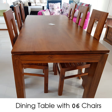 Dining Table with 06 Chairs - Jaydy Furniture - mylife-sa.myshopify.com