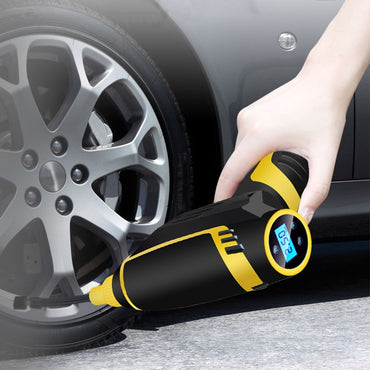 (Global Shop) Portable Digital LED Smart Car Tire Air Compressor Pump