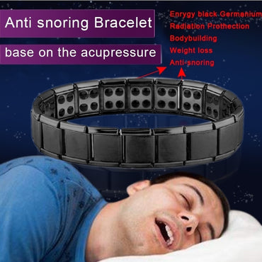 (Global Shop) Double Row Magnetic Therapy Linked Bracelet