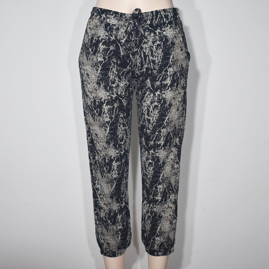 Open Knit Printed Jogger Pant - Deshanee Dress Point - mylife-sa.myshopify.com