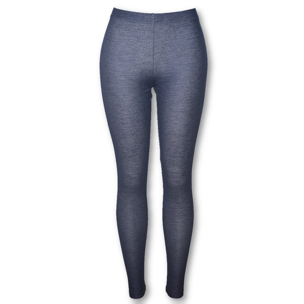 (Wholesale Only) Dark Gray Comfortable Women Denim Leggings - Deshanee Dress Point - mylife-sa.myshopify.com