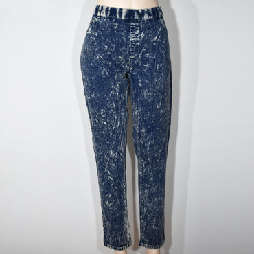 (Wholesale Only) Acid Wash Womens Denim Jean
