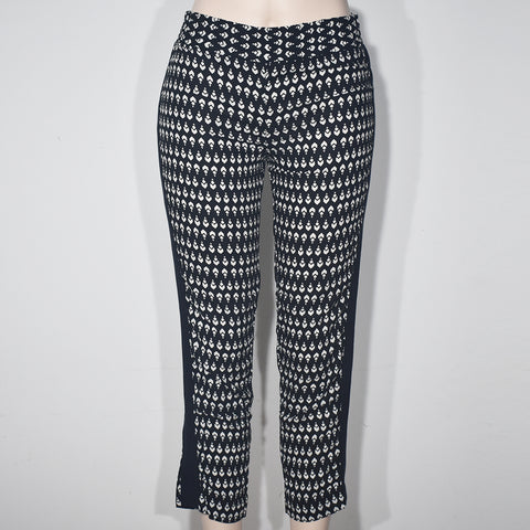 (Wholesale Only) Black & White Printed Women Jogger Pant