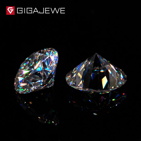 (Global Shop) E Color Round Excellent Cut Moissanite Diamond