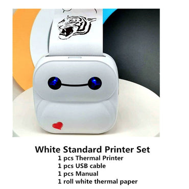 GOOJPRT Pink Blue White Color P8 Baypage New Arrival Mini USB Thermal Photo Printer Bluetooth Wireless Mobile Printer Imprimante - My Life