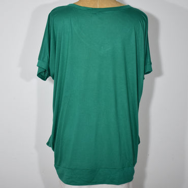 Womens V-Neck Batwing Top - Deshanee Dress Point - mylife-sa.myshopify.com
