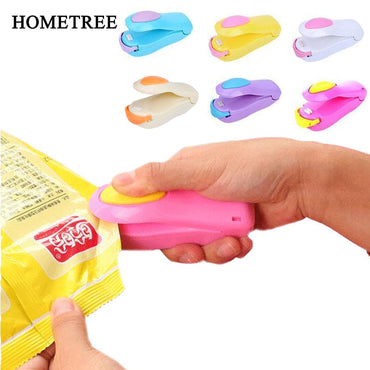 (Global Shop) Mini Handheld Electric Heating Snack Sealing Machine