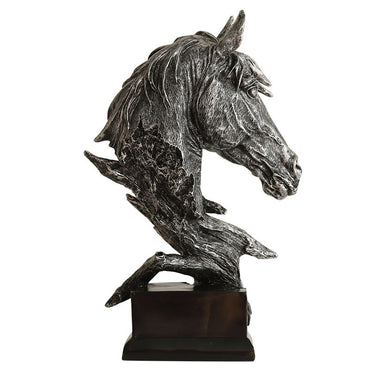 (Global Shop) Horse Head Abstract Ornaments Sculpture
