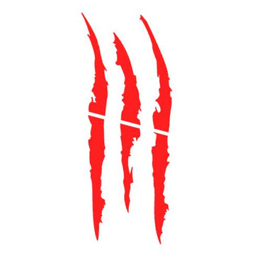 (Global Shop) Car Styling Monster Scratch Stripe Claw Sticker