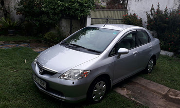 Gray Color Honda Aria Car for Rent