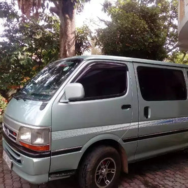 Toyota Dolphin 10 Seats Light Green Color Van for Hire