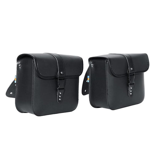 Motor Bicycle Riding Leather Side Bags for Rent