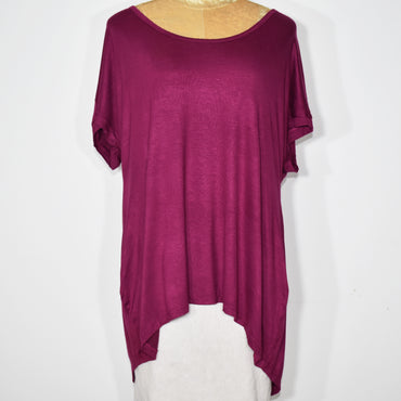 Womens Solid Color Cocoon Top - Deshanee Dress Point - mylife-sa.myshopify.com