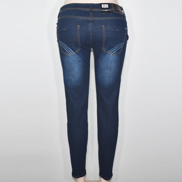 Blue Color Women Denim Trouser - Deshanee Dress Point - mylife-sa.myshopify.com