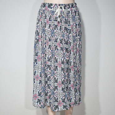 Mix Printed Women Skirts with Cord