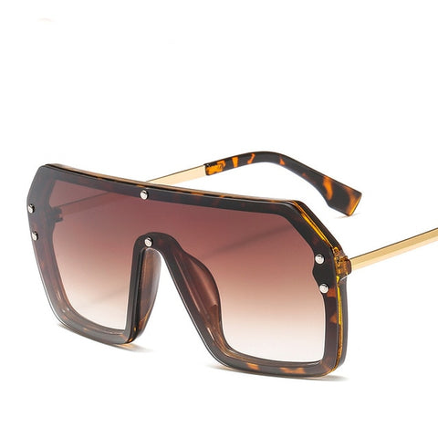 (Global Shop) Men & Women Oversize Fashion Brand Designer Sunglasses