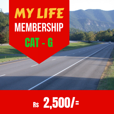 MY LIFE Membership CAT G