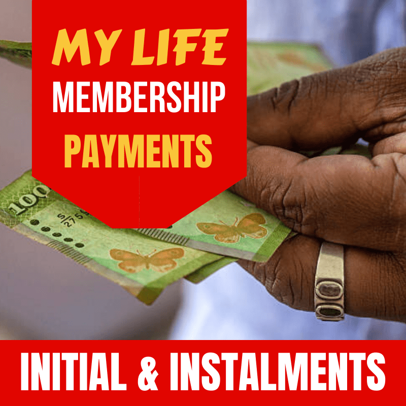 MY LIFE Membership Initial Down Payments and Installments - My Life - mylife-sa.myshopify.com
