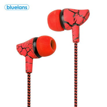 (Global Shop) New Fashion Earphone Wired Microphone Hands Free