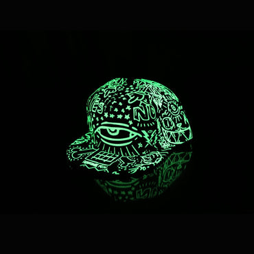 (Global Shop) New Fashion Fluorescence Baseball Luminous Cap