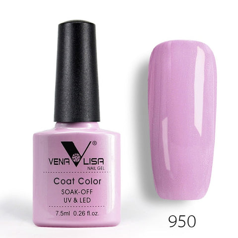 New Free Shipping Nail Art Design Manicure Venalisa 60Color 7.5Ml Soak Off Enamel Gel Polish UV Gel Nail Polish Lacquer Varnish - My Life