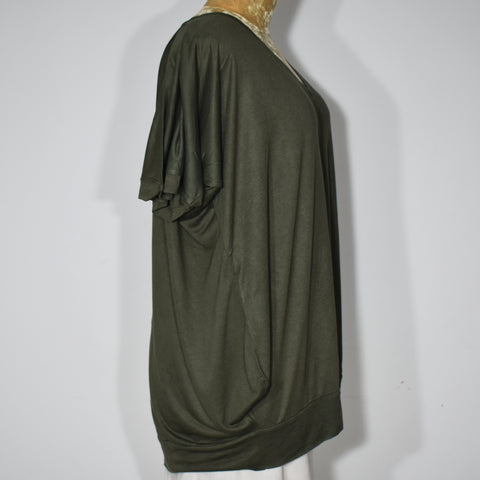 (Wholesale Only) Womens V-Neck Batwing Top - Deshanee Dress Point - mylife-sa.myshopify.com