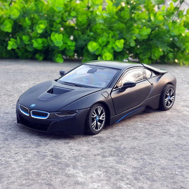(Global Shop) RASTAR 1:24 BMW I8 Alloy Car Model Toy Vehicles