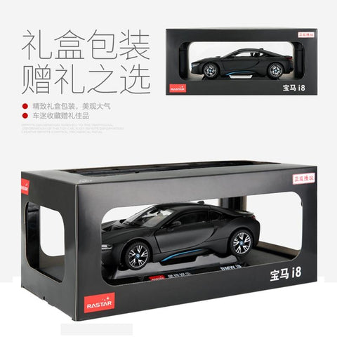 (Global Shop) RASTAR 1:24 BMW I8 Alloy Car Model Toy Vehicles - My Life