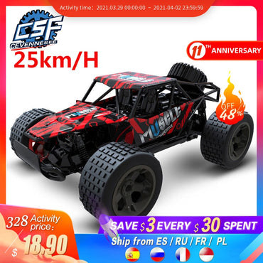 (Global Shop) Mini RC Radio Control Buggy Off-Road Car