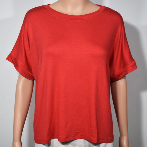 (Wholesale Only) Crew Neck Short Sleeve Womens Crop T-shirt - Deshanee Dress Point - mylife-sa.myshopify.com