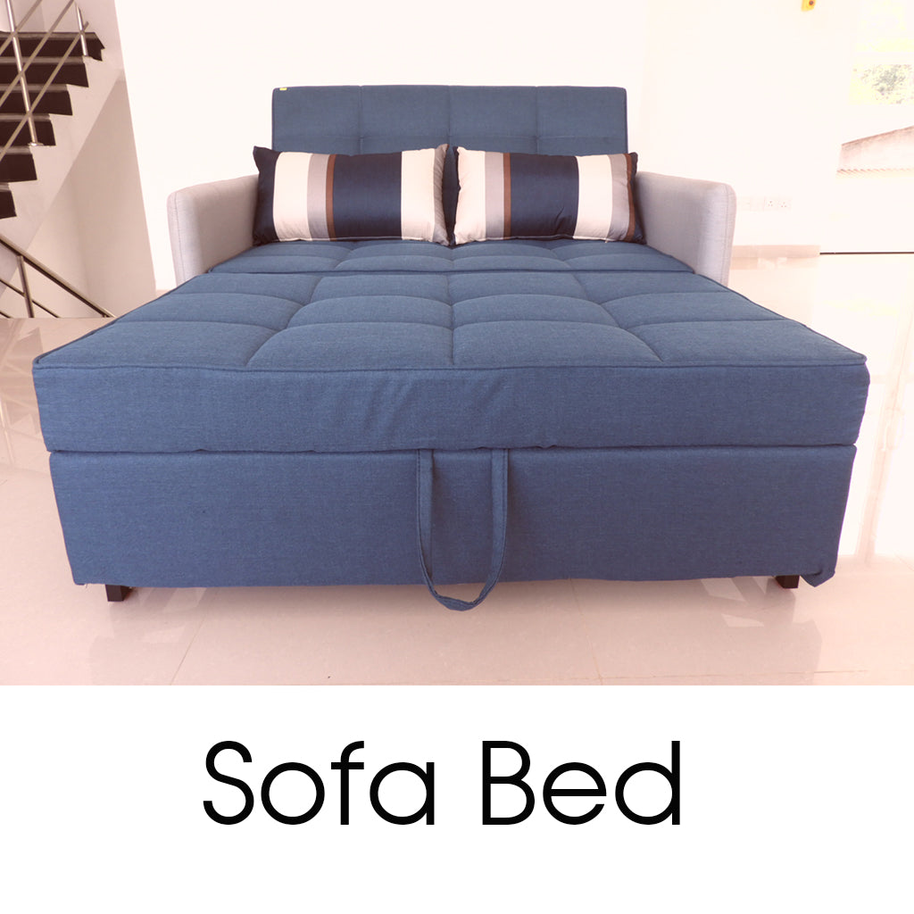 Imported from Malaysia Blue Color Sofa Bed