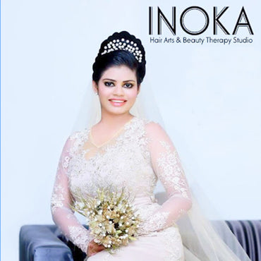 Inoka Saloon & Academy Bridal Dressing Package  A