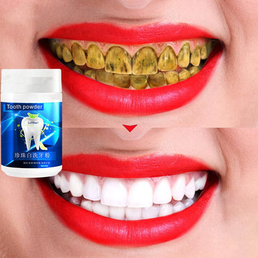 (Global Shop) Quick Stain Removing Powder Teeth Whitening Toothpaste - My Life
