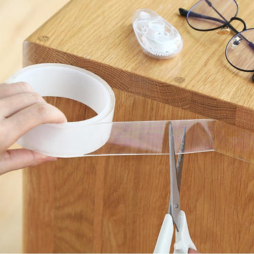 (Global Shop) Reusable Transparent Magic Adhesive Double-Sided Nano Tape