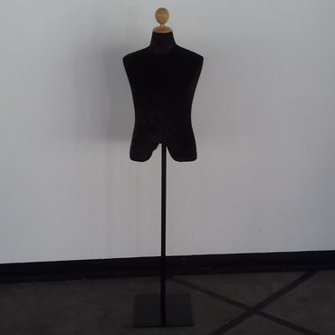 (Special Ad) Black Fabric Male Full Height Dummy Mannequin - My Life - mylife-sa.myshopify.com