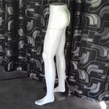 (Special Ad) White Gents Elegant Leg Dummy Half Body Male Mannequin - My Life - mylife-sa.myshopify.com