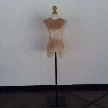 (Special Ad) Cream Color Fabric Female Full Height Dummy Mannequin - My Life - mylife-sa.myshopify.com