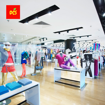 Ready-made Garments Showroom Interior Design Plan