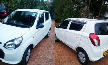Suzuki Alto White Color Car for Rent