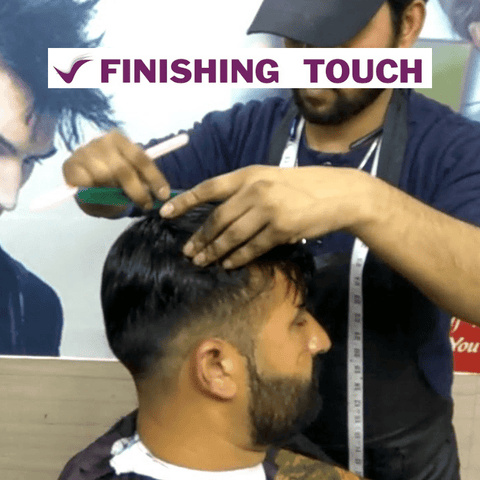 Clip on Weaving Gents Hair Systems - Finishing Touch Sri Lanka
