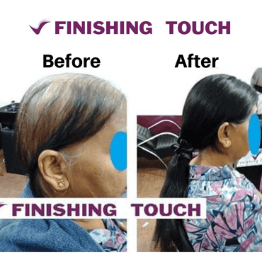 Women Full Hair Systems Weaving Patch Mono Filament - Finishing Touch Sri Lanka