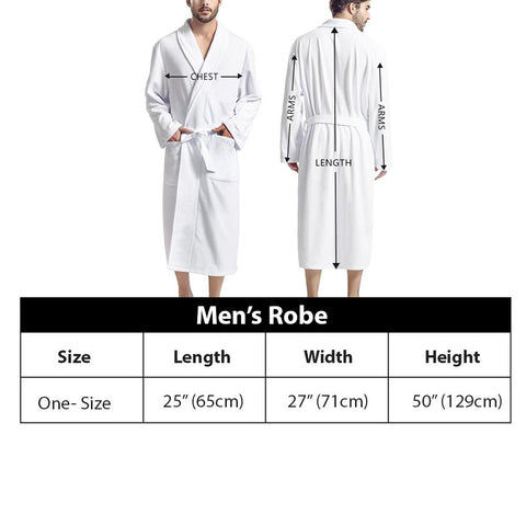 (Global Shop) Alien Invasion - Men's Bathrobe - E creations - mylife-sa.myshopify.com