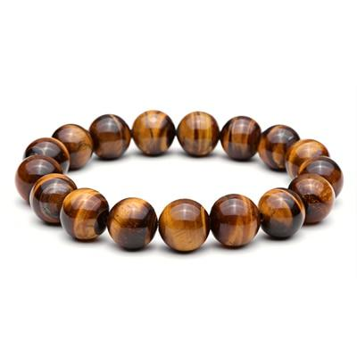(Global Shop) Men Jewelry Tiger Eye Natural Stone Bracelet