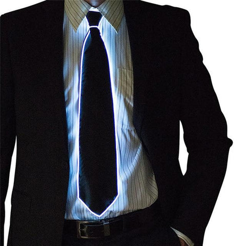 (Global Shop) Awesome Party Masks Cool Flashing LED Tie